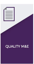 quality monitoring and evaluation